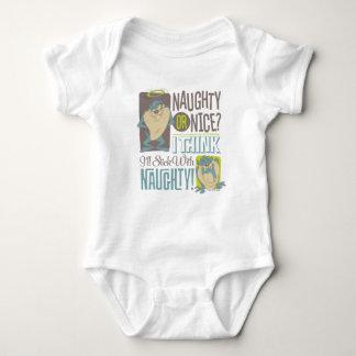 TAZ™- Naughty or Nice? Baby Bodysuit
