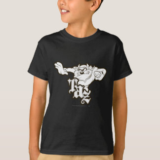 TAZ™ One Arm Stuff B/W T-Shirt