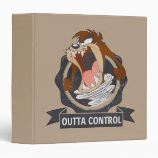 TAZ™ Outta Control 3 Ring Binder