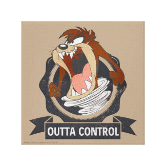 TAZ™ Outta Control Canvas Print