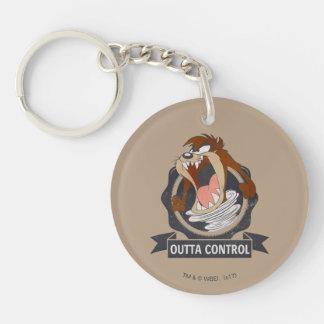 TAZ™ Outta Control Keychain