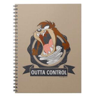 TAZ™ Outta Control Notebooks