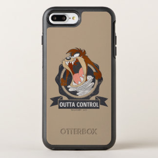 TAZ™ Outta Control OtterBox Symmetry iPhone 8 Plus/7 Plus Case