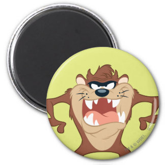 TAZ™ posing 14 2 Inch Round Magnet