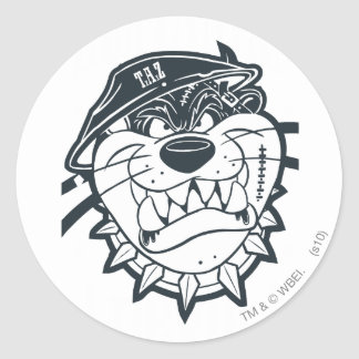 TAZ™ - Rebel 8 Round Sticker