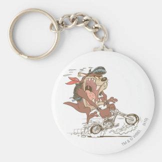 TAZ™ Slick Hog Keychain