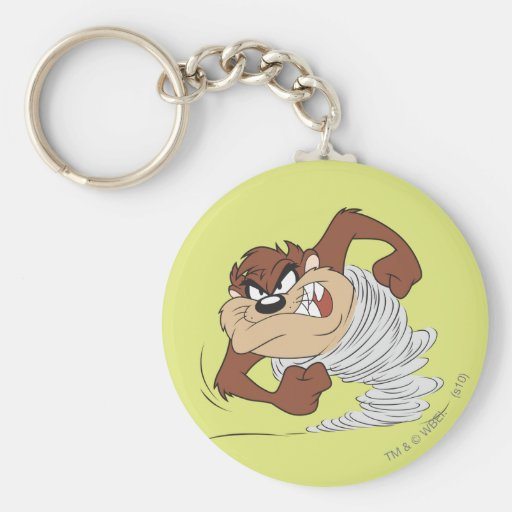 TAZ™ spinning fast Key Chains