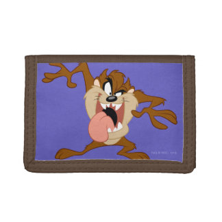 TAZ™ | Sticking His Tongue Out Tri-fold Wallet