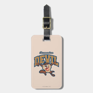 TAZ™ Tasmanian Devil Patch Luggage Tag