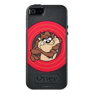 TAZ™ Through LOONEY TUNES™ Circles OtterBox iPhone 5/5s/SE Case