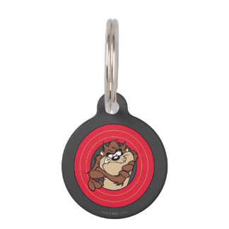 TAZ™ Through LOONEY TUNES™ Circles Pet ID Tag