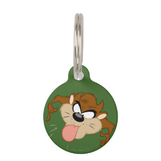 TAZ™ Tongue Out Pet Tag