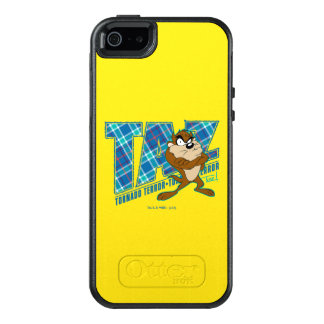 TAZ™ Tornado Terror Plaid OtterBox iPhone 5/5s/SE Case