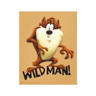 TAZ™- Wild Man Canvas Print