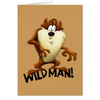 TAZ™- Wild Man Card
