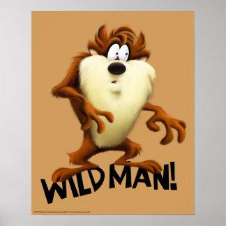 TAZ™- Wild Man Poster