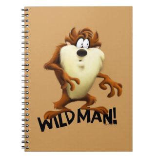 TAZ™- Wild Man Spiral Notebook