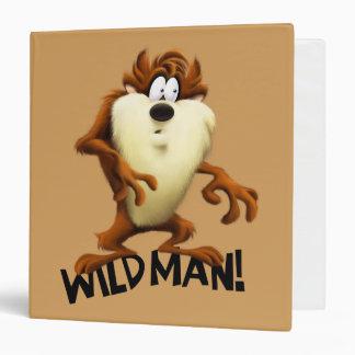 TAZ™- Wild Man Vinyl Binder