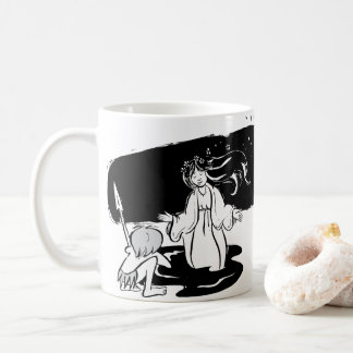 Taza virgen negra. coffee mug