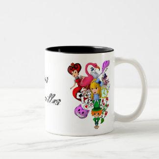 TazaAlicia Two-Tone Coffee Mug