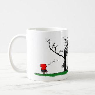 tazacaperucita classic white coffee mug