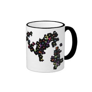 TazaFloresW Ringer Coffee Mug