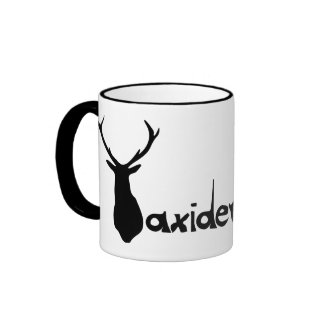 tazataxidermia1 ringer coffee mug
