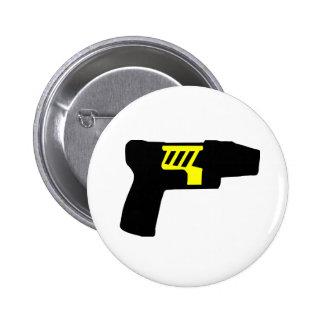 Tazer Gun 2 Inch Round Button