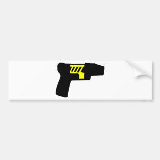 Tazer Gun Bumper Sticker