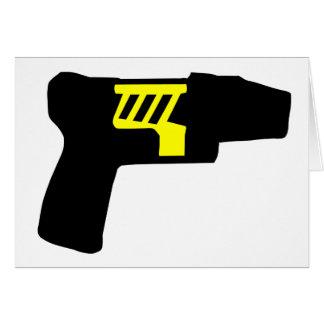 Tazer Gun Cards