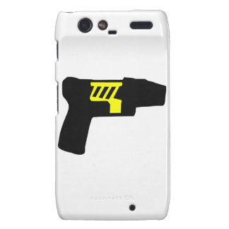 Tazer Gun Motorola Droid RAZR Cover