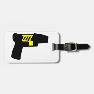 Tazer Gun Tags For Bags