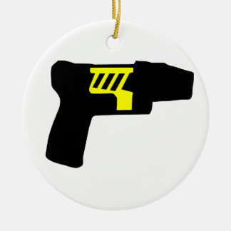 Tazer Gun Christmas Tree Ornament
