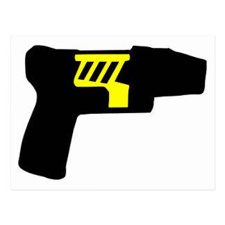 Tazer Gun Postcard