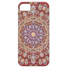 Tazhib of the Persian art with red bottom sends it iPhone 5 Case