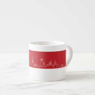 Tazzina Espresso Circolo Pd New York Espresso Cup