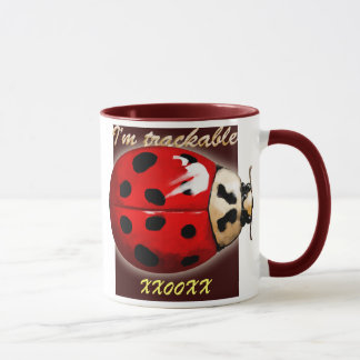 TB Trackable coffee mug