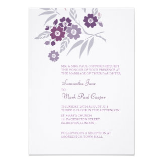 TBA: Cherry Blossom Wedding Invitations