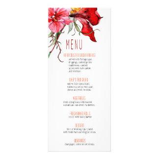::TBA:: Flora Botanica Flowers Wedding Menu Announcement