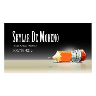 TBA Freelance Writer Editor 5 Stylish Pack Of Standard Business Cards