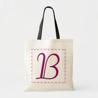 TBA WINNER - Bridesmaid Bag - MAGENTA Monogram