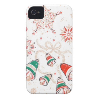 TBA Winner Christmas Bells iPhone 4 Case-Mate Cases