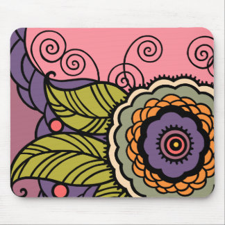 {TBA Winner} May Flower Mouse Pad
