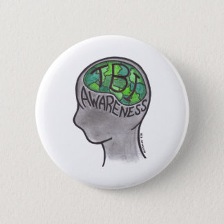 TBI Awareness 2 Inch Round Button