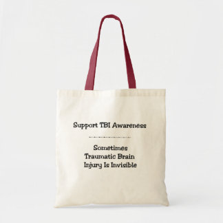 TBI Awareness Bag