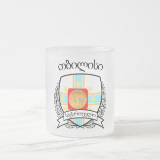 Tbilisi Frosted Glass Coffee Mug