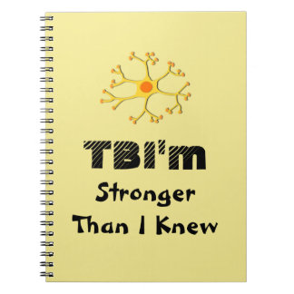 TBI'm Stronger Than I Knew Notebook