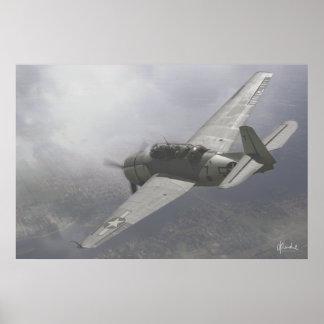 TBM-3E Avenger Poster