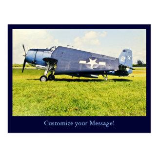 TBM Avenger Postcard