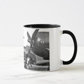 TBM's on tarmac, The Avengers Mug